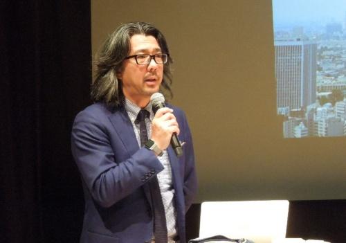 プロジェクトを率いる、NTT サービスエボリューション研究所 2020エポックメイキングプロジェクト 主席研究員 プロダクトマネージャ・研究部長の木下真吾氏