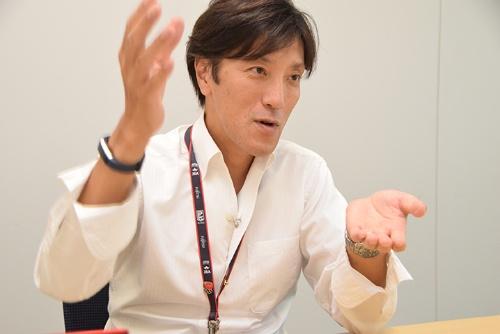富士通 スポーツ・文化イベントビジネス推進本部 第一スポーツビジネス統括部 統括部長の小山英樹氏