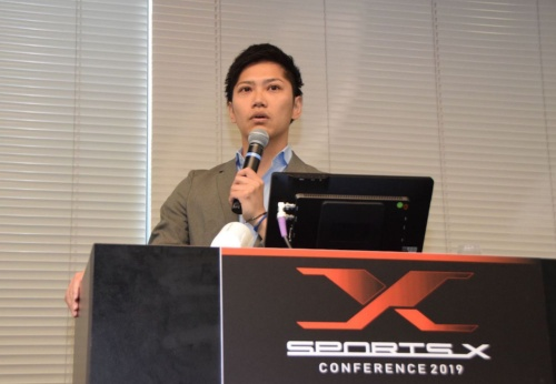横浜DeNAベイスターズの林裕幸氏。「横浜スポーツタウン構想」や新規事業、球場改修計画立案などを手がける