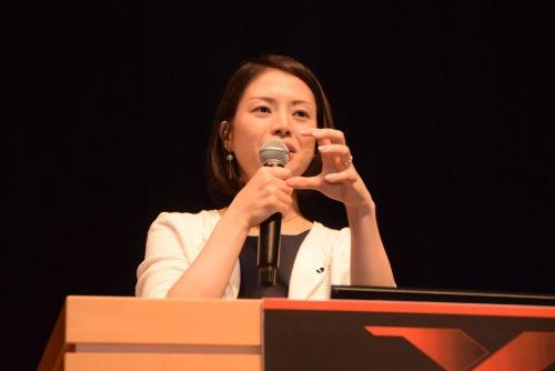 日本プロサッカーリーグ(Jリーグ)理事の米田恵美氏
