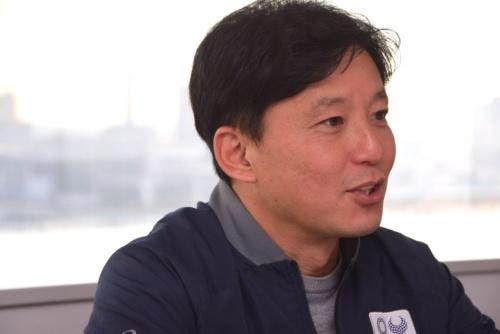 東京オリンピック・パラリンピック競技大会組織委員会 イノベーション推進室 エンゲージメント企画担当部長の天野春果氏。Jリーグ・川崎フロンターレ時代にも数々の大ヒット企画を手掛けてきた