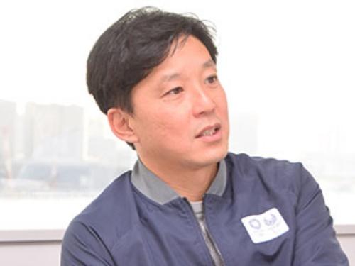 東京オリンピック・パラリンピック競技大会組織委員会 イノベーション推進室 エンゲージメント企画担当部長の天野春果氏。Jリーグ・川崎フロンターレ時代にも数々の大ヒット企画を手掛けてきた名物企画者である