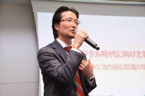 NTTコムウェアビジネスインキュベーション本部 BI部 統括課長の中里秀則氏