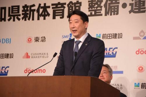 前田建設工業の前田操治代表取締役社長