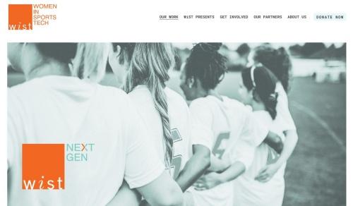 「WiST Next Gen」のWebページ