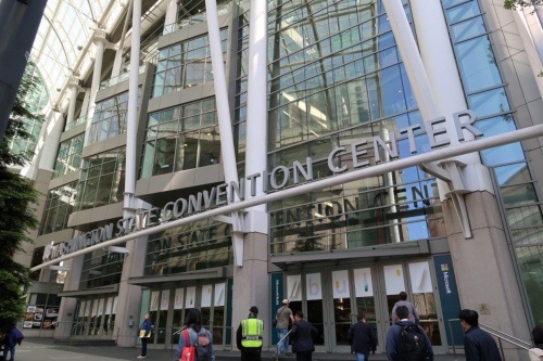 2019年5月6日から8日まで開催される「Microsoft Build 2019」の会場となるワシントン州コンベンションセンター