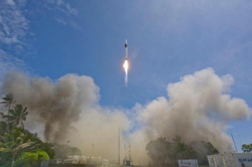 スペースX最初のロケットである「ファルコン1」(画像:SpaceX)