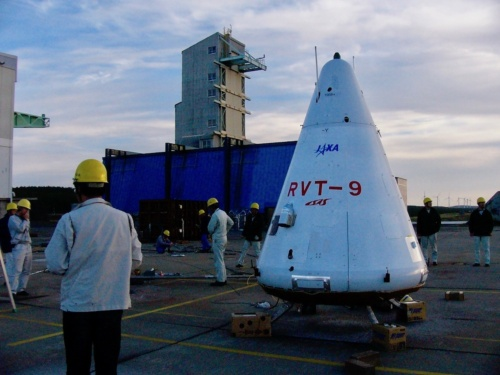 2003年に飛行実験を行ったRVT(写真:松浦晋也)