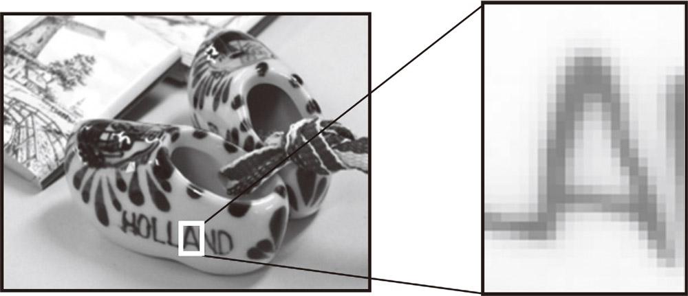 図1-30 画像はピクセルの集まり