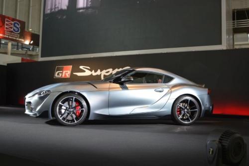 図1 ショートホイールベース化を図ったトヨタの新型スープラ