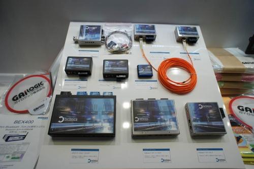 「人とくるまのテクノロジー展2019」に展示されていた車載Ethernetの評価用ハードウエア(撮影:日経 xTECH)