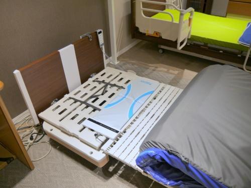 「眠りSCAN」を設置したベッド