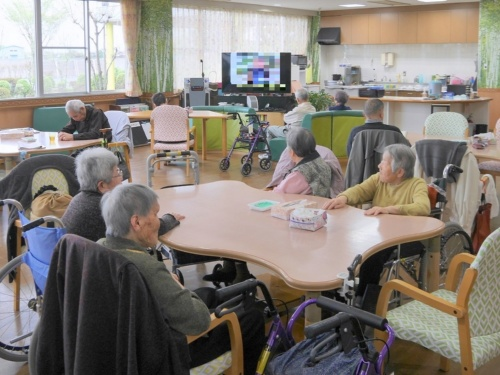 特別養護老人ホーム「おきな」のデイサービスルーム