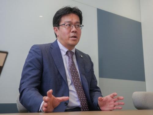 バイエル薬品オープンイノベーションセンターセンター長の高橋俊一氏