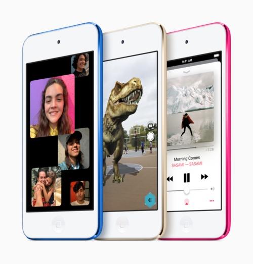 新型「iPod Touch」(出所:アップル)