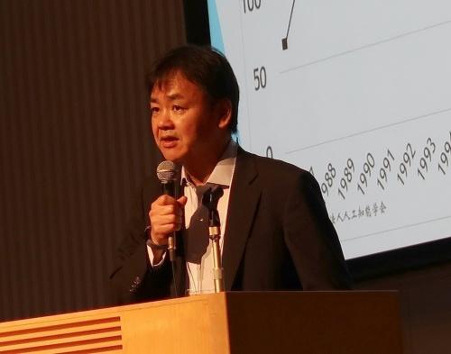 人工知能学会の浦本直彦会長