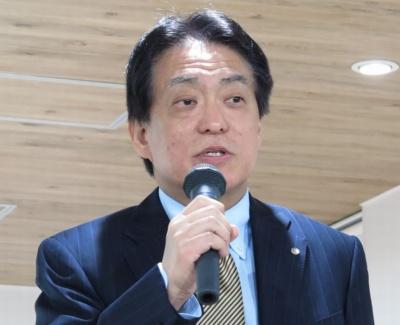 JALの西畑智博常務執行役員イノ ベーション推進本部長