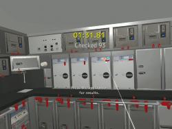 VRによるギャレー(調理室)の確認訓練コンテンツ