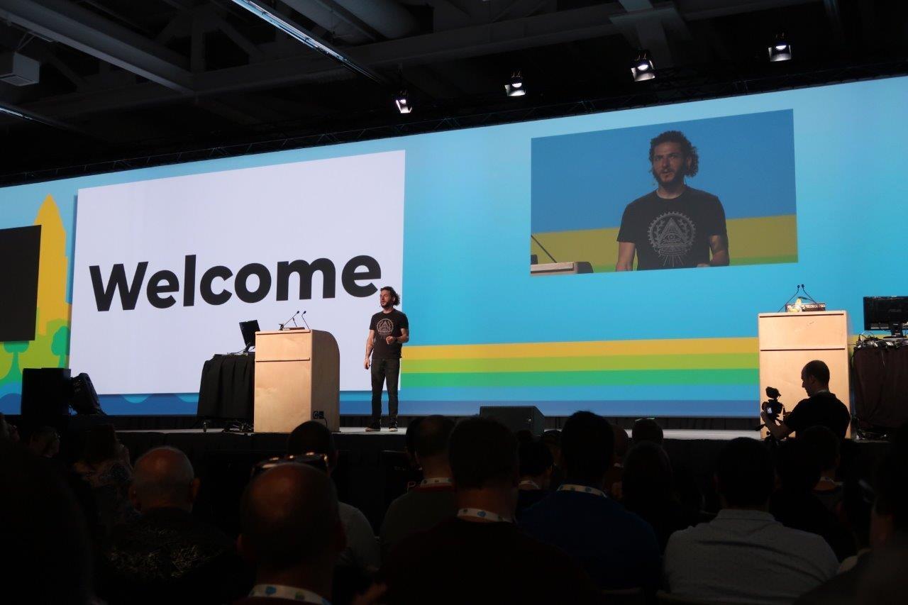 PyCon 2019のオープニングセッションの様子