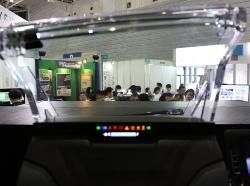 図1 日本精機はHUD(ヘッド・アップ・ディスプレー)で世界首位の車載計器メーカー