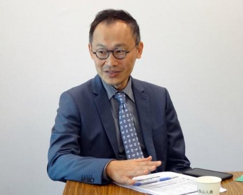 Nan Shan Life Insurance(南山人壽)でProduct Dev. & ActuarialのVice Presidentを務めるWilson Chen(陳 維新)氏