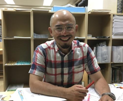 NPO法人岡崎まち育てセンター・りたの事務局長を務める天野裕氏(写真:有岡 三恵)