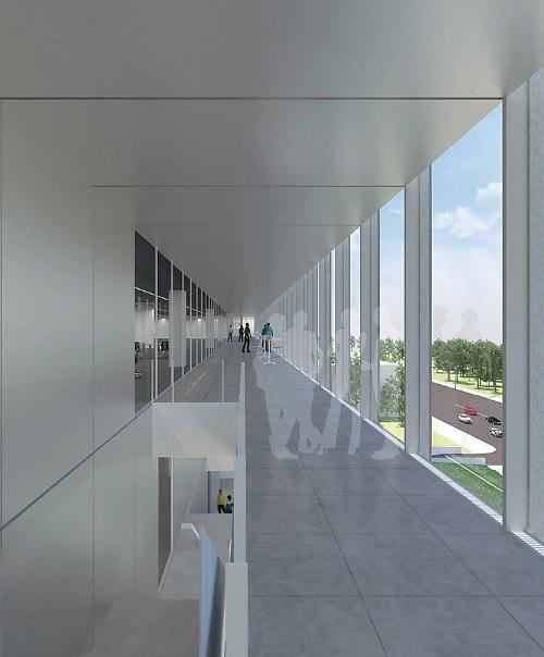 窓際に配置する回廊のイメージ