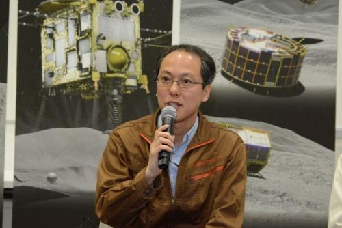 図1 JAXA宇宙科学研究所「はやぶさ2」プロジェクトチームプロジェクトマネージャの津田雄一氏