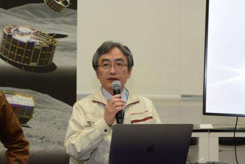 図3 はやぶさ2プロジェクトチームミッションマネージャの吉川真氏