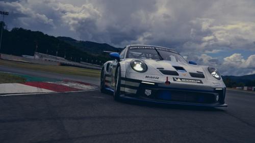 ドイツPorscheと米ExxonMobilは2022年からe-fuelを利用したレースを開催する。現在はバイオ燃料を用いている(出所:Porsche)