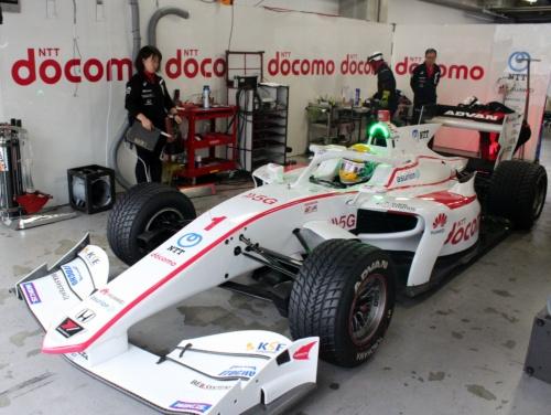 スーパーフォーミュラに参戦するドコモダンデライアンの1号車。ドライバーは山本尚貴選手