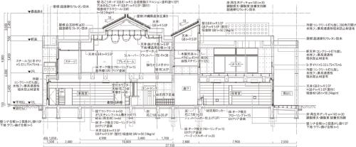 幼稚園断面図(写真:アトリエ・ファイ建築研究所)