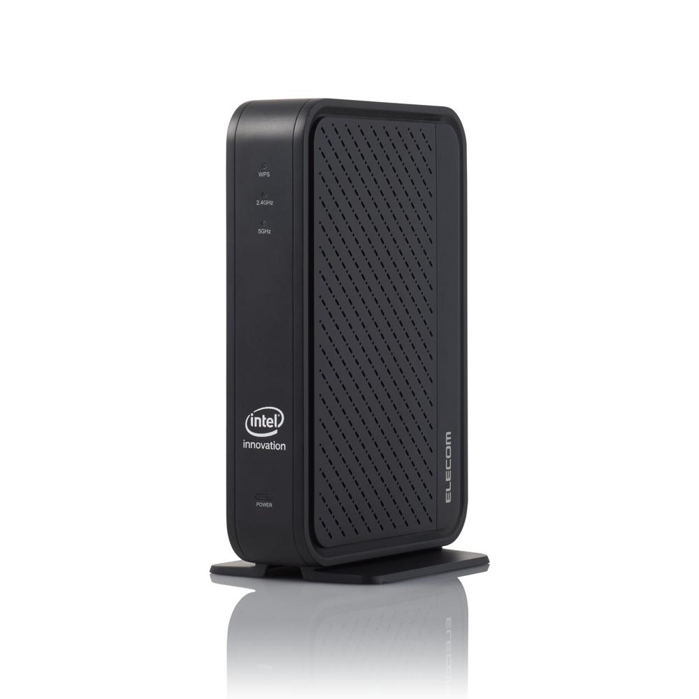 IEEE 802.11axのドラフト版に対応するWi-Fi機器が各社から続々と発表されている。写真はエレコムが2019年秋に発売予定の「WRC-X3000GS」 (出所:エレコム)