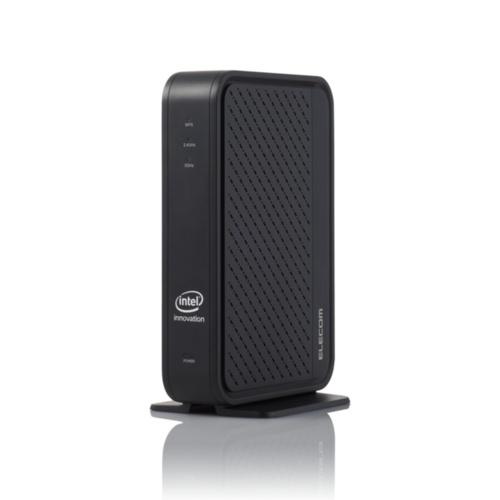 IEEE 802.11axのドラフト版に対応するWi-Fi機器が各社から続々と発表されている。写真はエレコムが2019年秋に発売予定の「WRC-X3000GS」