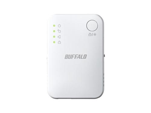 中継機は既存のネットワークに追加する形で導入する。写真はバッファローの中継機「WEX-1166DHPS」で、実勢価格は税別4190円