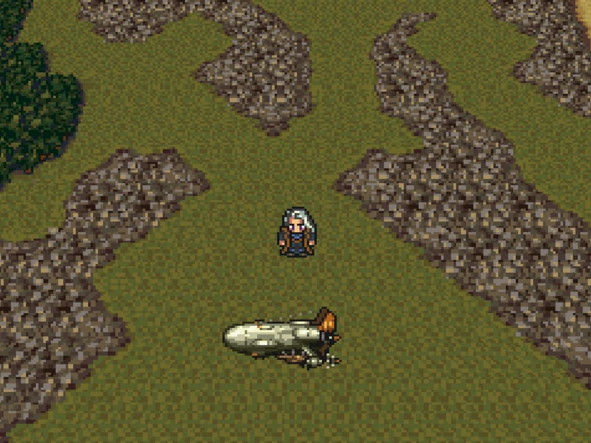ファイナルファンタジーVIのゲーム画面 (c)1994 SQUARE ENIX CO., LTD.All Rights Reserved.<br>LOGO & IMAGE ILLUSTRATION:(c)1994 YOSHITAKA AMANO
