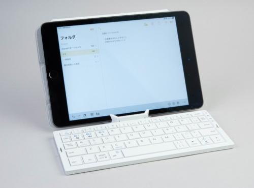 外付けのキーボードと組み合わせれば、PCのようにも使える