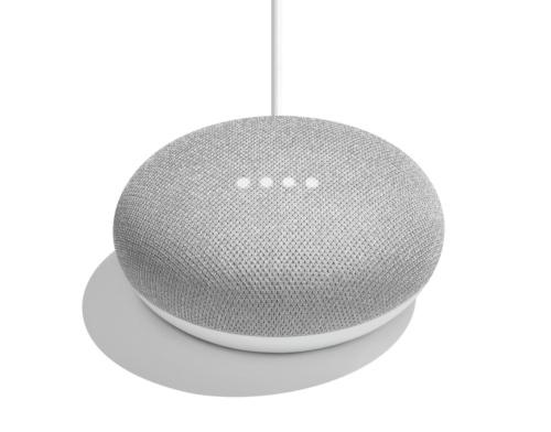 「Google Home」シリーズで小型の「Google Home Mini」