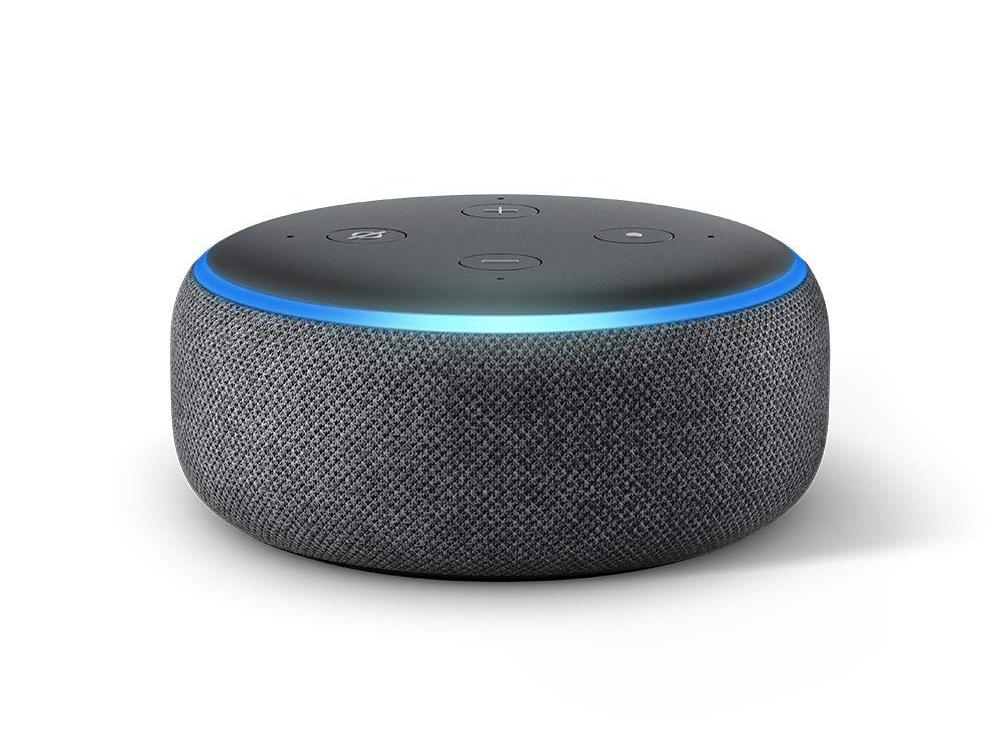「Amazon Echo」シリーズで小型の「Echo Dot」 (出所:米アマゾン・ドット・コム)
