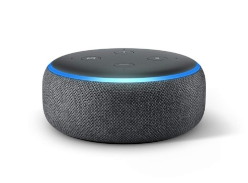「Amazon Echo」シリーズで小型の「Echo Dot」