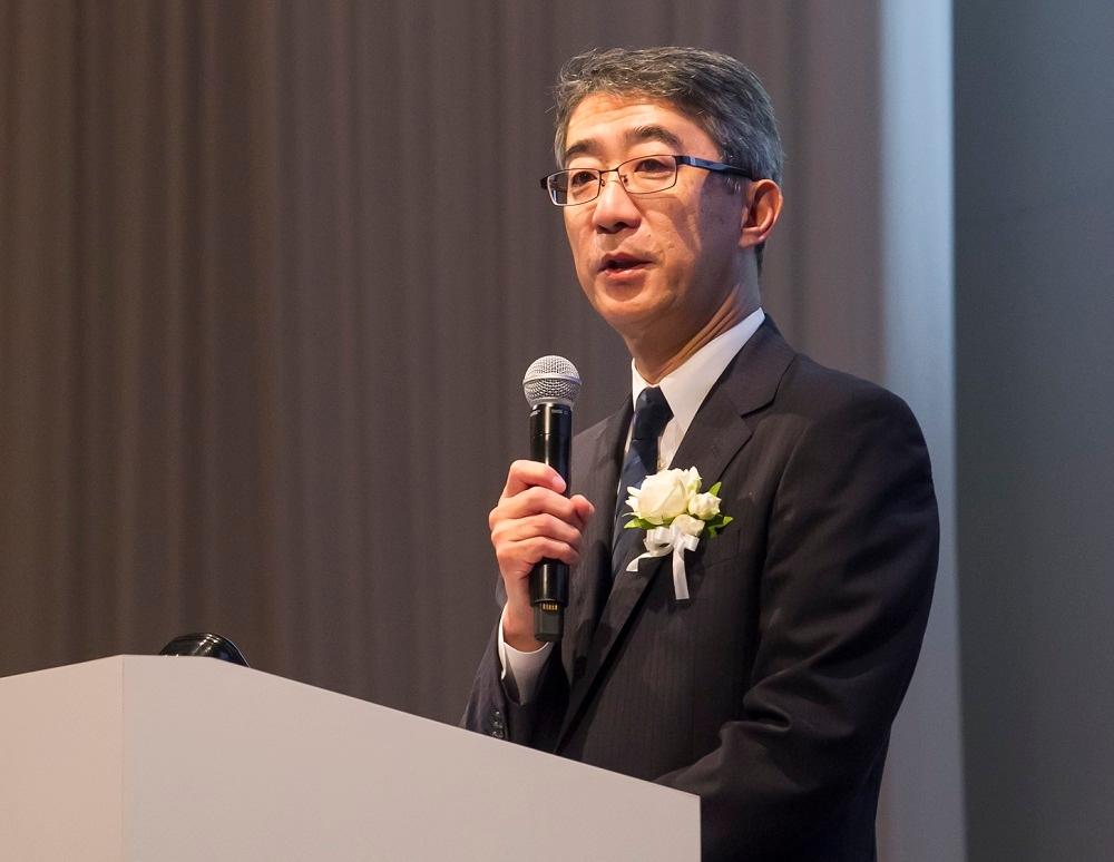 ロイヤルホールディングスの菊地唯夫会長 (撮影:井上 裕康)