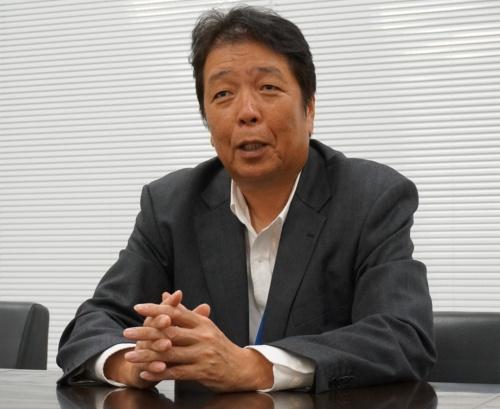 兼松エレクトロニクスの作山信好専務取締役本社機構担当