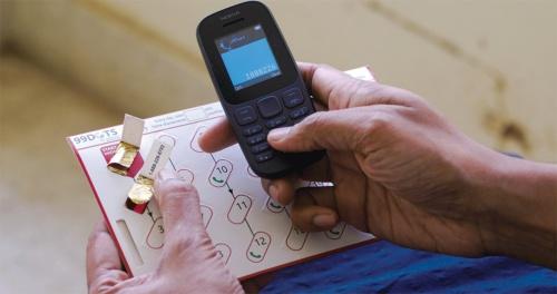 エバーウェル・ヘルス・ソリューションズが開発した結核の薬を正しく服用するためのシステム(写真提供:インド・エバーウェル・ヘルス・ソリューションズ)