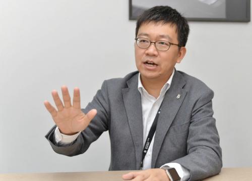 奇点汽車Co-Founder CEOの沈海寅(Tiger Shen)氏