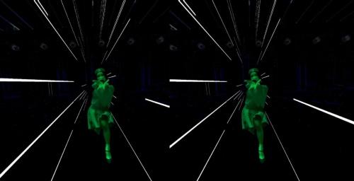 ダンサーを強調するデジタル演出。ダンサー自身は本物?(資料:ライゾマティクス)