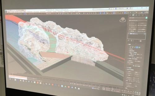 マゼランペンギンが暮らす岩場は、建築の設計者がデザインした(資料:日本設計)
