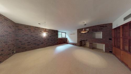 建築家の前川國男の自邸である「新・前川國男邸」をマーターポートで撮影した3D空間画像(画像:ARCHI HATCH)