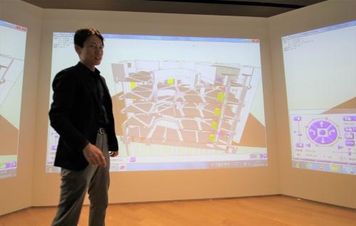 竹中工務店東京本店設計部設計第2部門設計4(アドバンスト デザイン)グループ長の花岡郁哉氏。コンピュテーショナルデザインと設計・施工におけるBIM活用の第一人者だ。「BCS賞」など数々の受賞歴がある。代表的な設計案件はメルセデス・ベンツ日本と共同で東京・六本木に建設した、人とクルマと建築の新しい関係を具現化した「EQ House」(写真:日経アーキテクチュア)