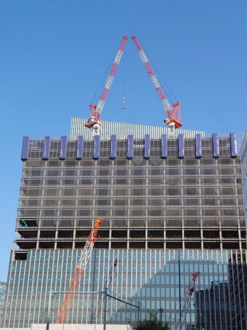 建設が進む「横浜ゲートタワー」(写真:日経クロステック)