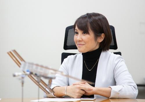 ANAホールディングスのデジタル・デザイン・ラボ兼宇宙事業化プロジェクトメンバーである松本紋子氏